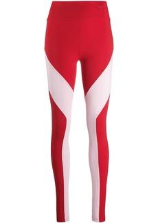 Y-3 Yohji Yamamoto colour-block leggings