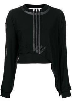 Y-3 Yohji Yamamoto cropped knit jumper