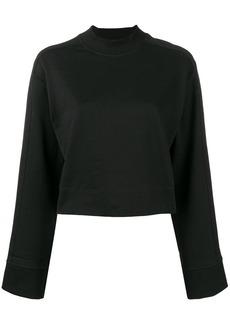 Y-3 Yohji Yamamoto cropped sweatshirt