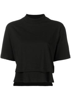 Y-3 Yohji Yamamoto cropped T-shirt