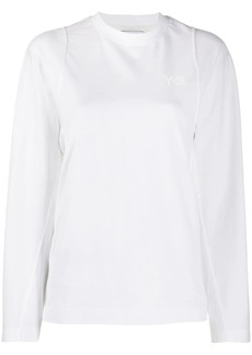 Y-3 Yohji Yamamoto double layered long sleeved T-shirt