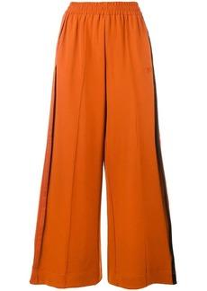 Y-3 Yohji Yamamoto flared sports trousers