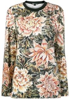 Y-3 Yohji Yamamoto Flower print jumper