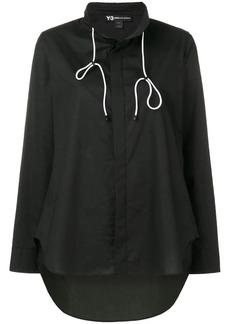 Y-3 Yohji Yamamoto high low shirt