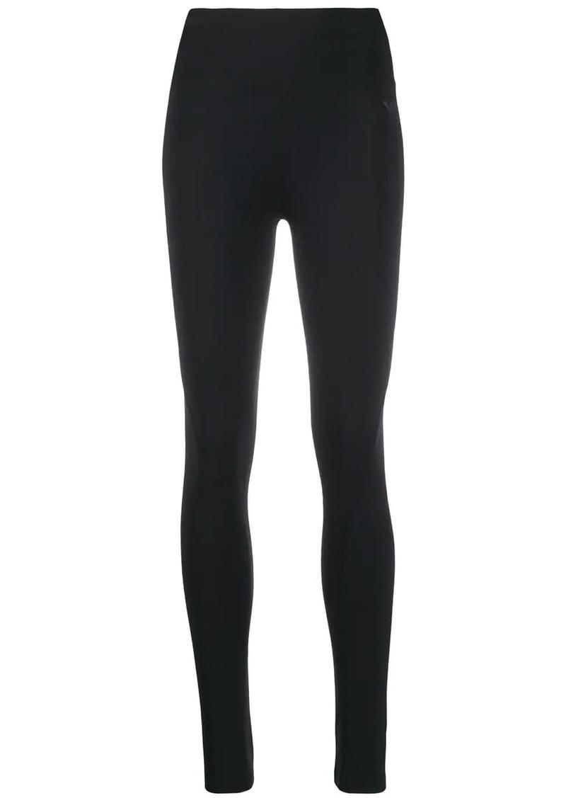 Y-3 Yohji Yamamoto high-rise stretch leggings