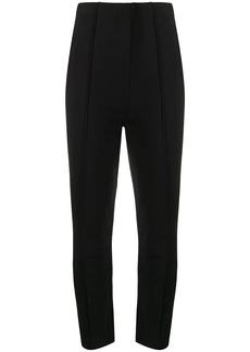 Y-3 Yohji Yamamoto high-waist jersey trousers