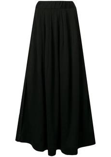 Y-3 Yohji Yamamoto high waisted maxi skirt