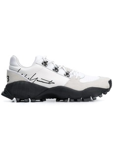 Y-3 Yohji Yamamoto lace-up low-top sneakers