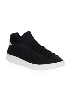 Y-3 Yohji Yamamoto Lace-Up Suede Sneakers