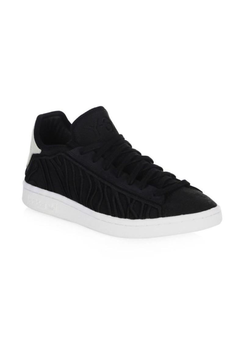 Y-3 Lace-Up Suede Sneakers PNXGb3AL