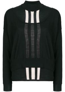 Y-3 Yohji Yamamoto layered jumper