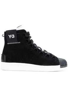 Y-3 Yohji Yamamoto logo ankle sneakers