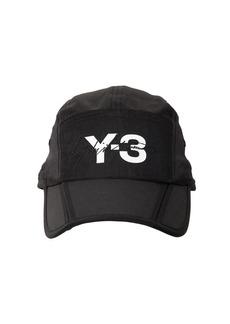 Y-3 Yohji Yamamoto Logo Foldable Hat
