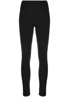 Y-3 Yohji Yamamoto logo-print stretch-fit leggings