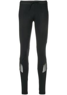Y-3 Yohji Yamamoto logo printed leggings