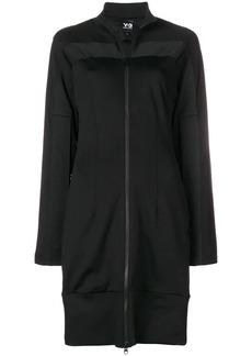 Y-3 Yohji Yamamoto long zipped track jacket