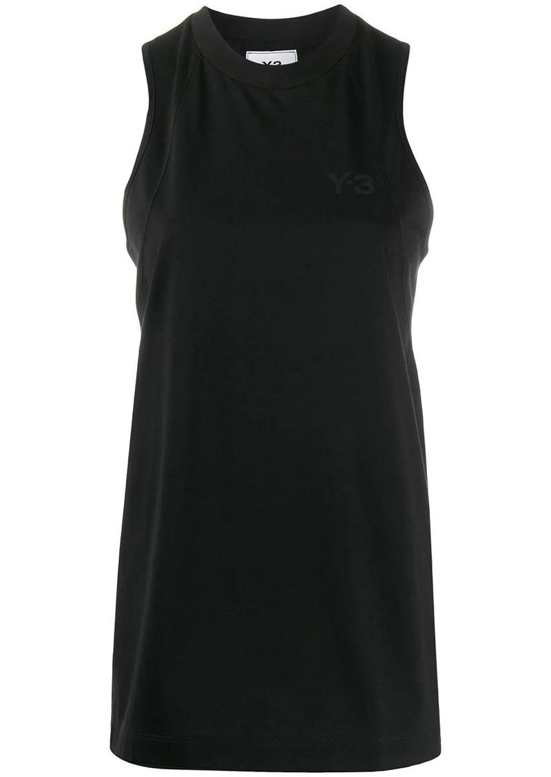 Y-3 Yohji Yamamoto loose-fit sleeveless top