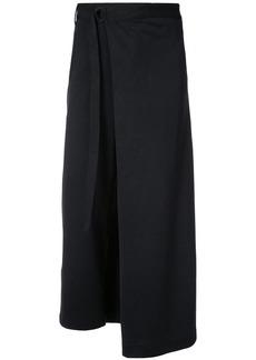 Y-3 Yohji Yamamoto matte track skirt
