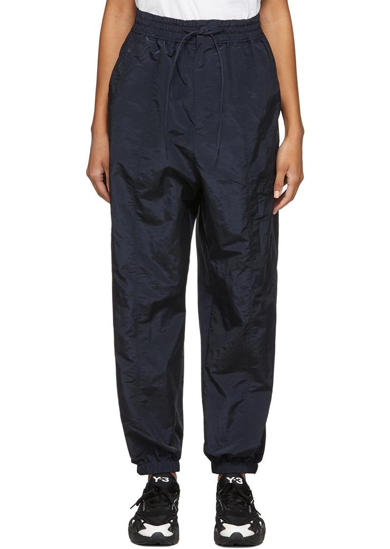 Y-3 Yohji Yamamoto Navy Classic Shell Lounge Pants