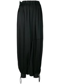 Y-3 Yohji Yamamoto oversized harem trousers