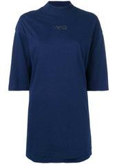 Y-3 Yohji Yamamoto oversized layered hem T-shirt