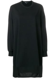 Y-3 Yohji Yamamoto oversized sweatshirt dress