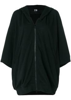 Y-3 Yohji Yamamoto oversized zip-front hoodie