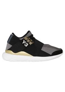 Y-3 Yohji Yamamoto Qasa Elle Lace Neoprene Sneakers