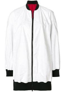 Y-3 Yohji Yamamoto reversible oversize bomber jacket