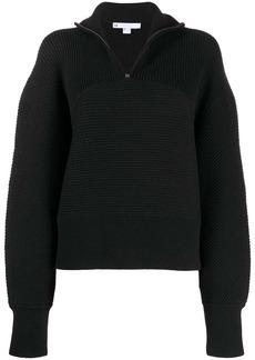 Y-3 Yohji Yamamoto ribbed-knit zipped jumper