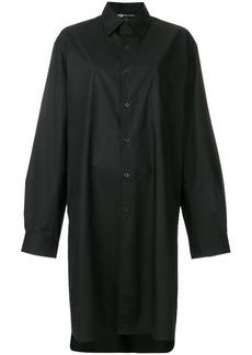 Y-3 Yohji Yamamoto shirt midi dress