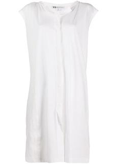 Y-3 Yohji Yamamoto short sleeved shift dress