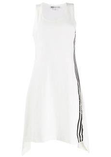 Y-3 Yohji Yamamoto side stripe dress