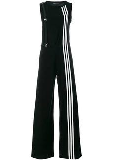 Y-3 Yohji Yamamoto side stripe jumpsuit