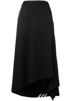 Y-3 Yohji Yamamoto side stripe skirt