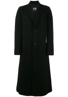 Y-3 Yohji Yamamoto single breasted coat