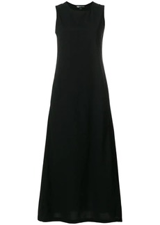 Y-3 Yohji Yamamoto sleeveless long dress