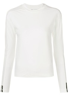 Y-3 Yohji Yamamoto stripe long sleeve T-shirt