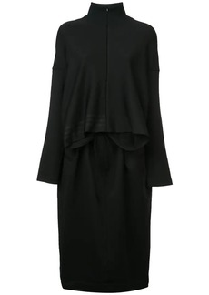 Y-3 Yohji Yamamoto sweatshirt midi dress