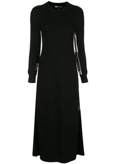 Y-3 Yohji Yamamoto tech knit dress