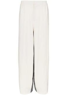 Y-3 Yohji Yamamoto three stripe track trousers