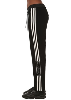 Y-3 Yohji Yamamoto Wide Leg Wool Blend Knit Pants