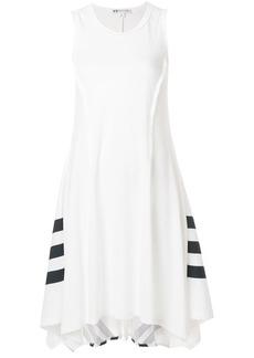 Y-3 Yohji Yamamoto Y-3 handkerchief hem sporty dress - White