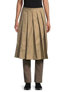 Y-3 Yohji Yamamoto Y-3 Herringbone Skirt Overlay Straight Leg Trouser