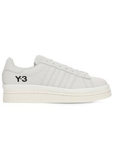 Y-3 Yohji Yamamoto Y-3 Hicho Leather Blend Sneakers