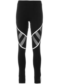 Y-3 Yohji Yamamoto Y-3 mesh panel leggings - Black