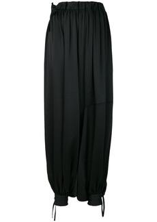 Y-3 Yohji Yamamoto Y-3 oversized harem trousers - Black