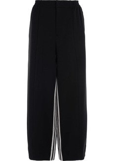 Adidas Pants In Black Palace With White Stripes Inside The Leg