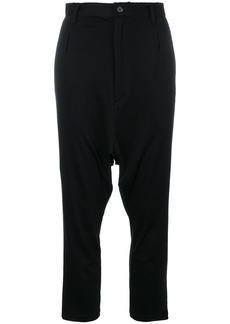 Y-3 Yohji Yamamoto Y-3 Sarouel straight-leg trousers - Black