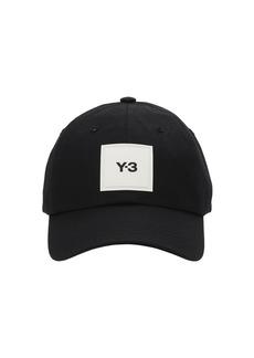 Y-3 Yohji Yamamoto Y-3 Square Label Nylon Baseball Hat